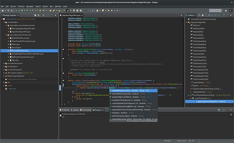 Eclipse Java IDE