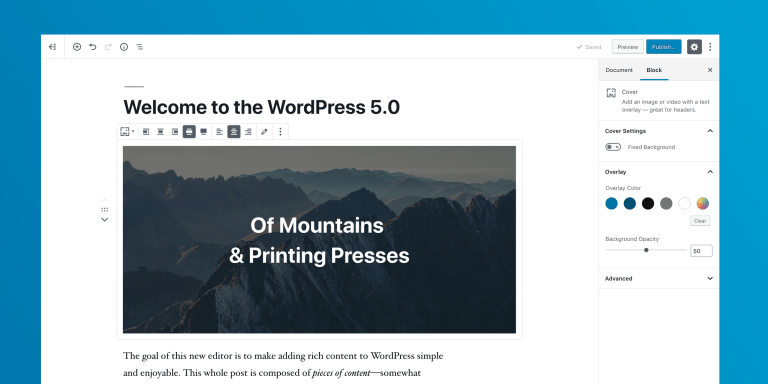 WordPress 5.0 Release Candidate Available Now