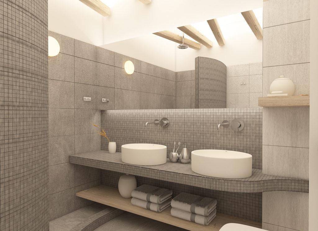Alafropetra Luxury Suites 4 - bathroom