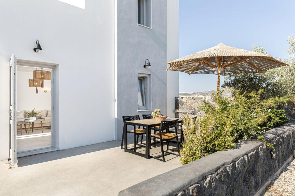 Alafropetra Luxury Suites - Suite 4 - Patio