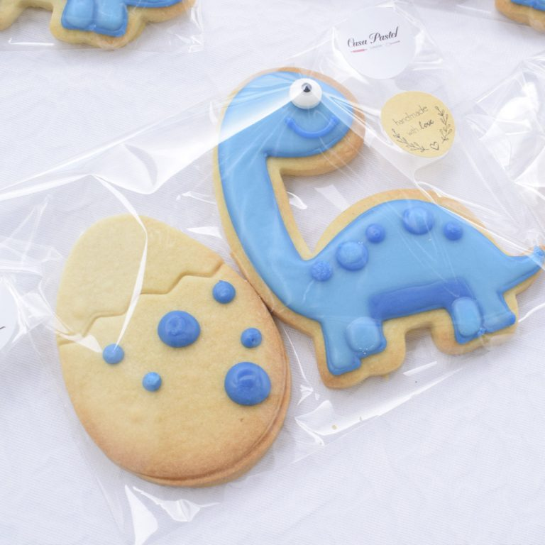 GENDER REVEAL HAND ICED BISCUITS