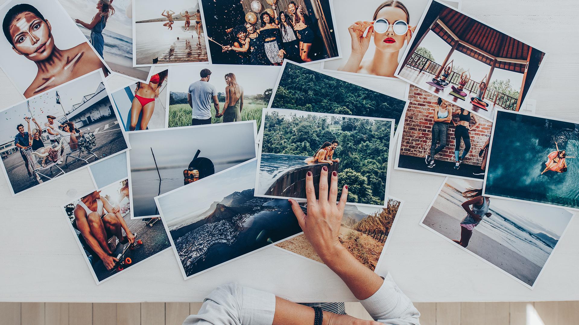 Choosing photos