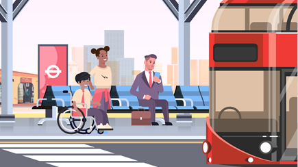 TfL day in a life animation