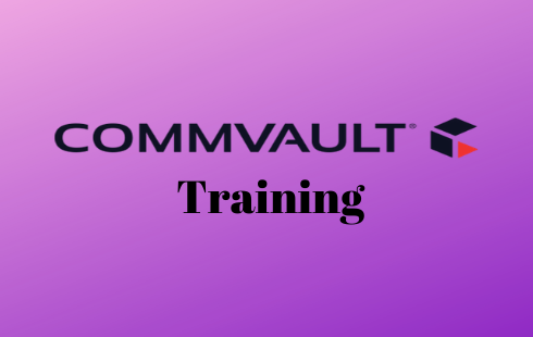 Commvault Online Training