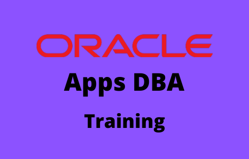 Oracle Apps DBA Online Training