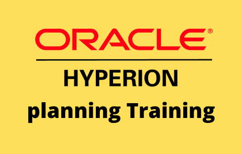 Oracle Hyperion Planning Online Training
