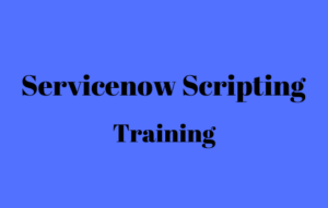 Servicenow Scripting Online Training