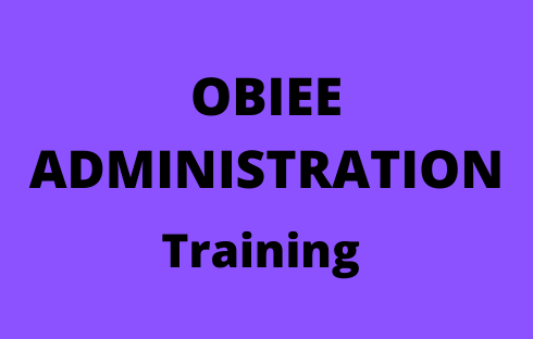 OBIEE Admin Online Training