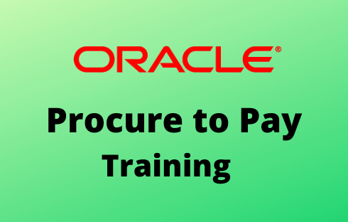 Oracle Procure to Pay online training