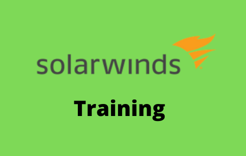 Solarwinds Online Training