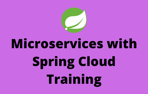microservices with spring cloud Online Training