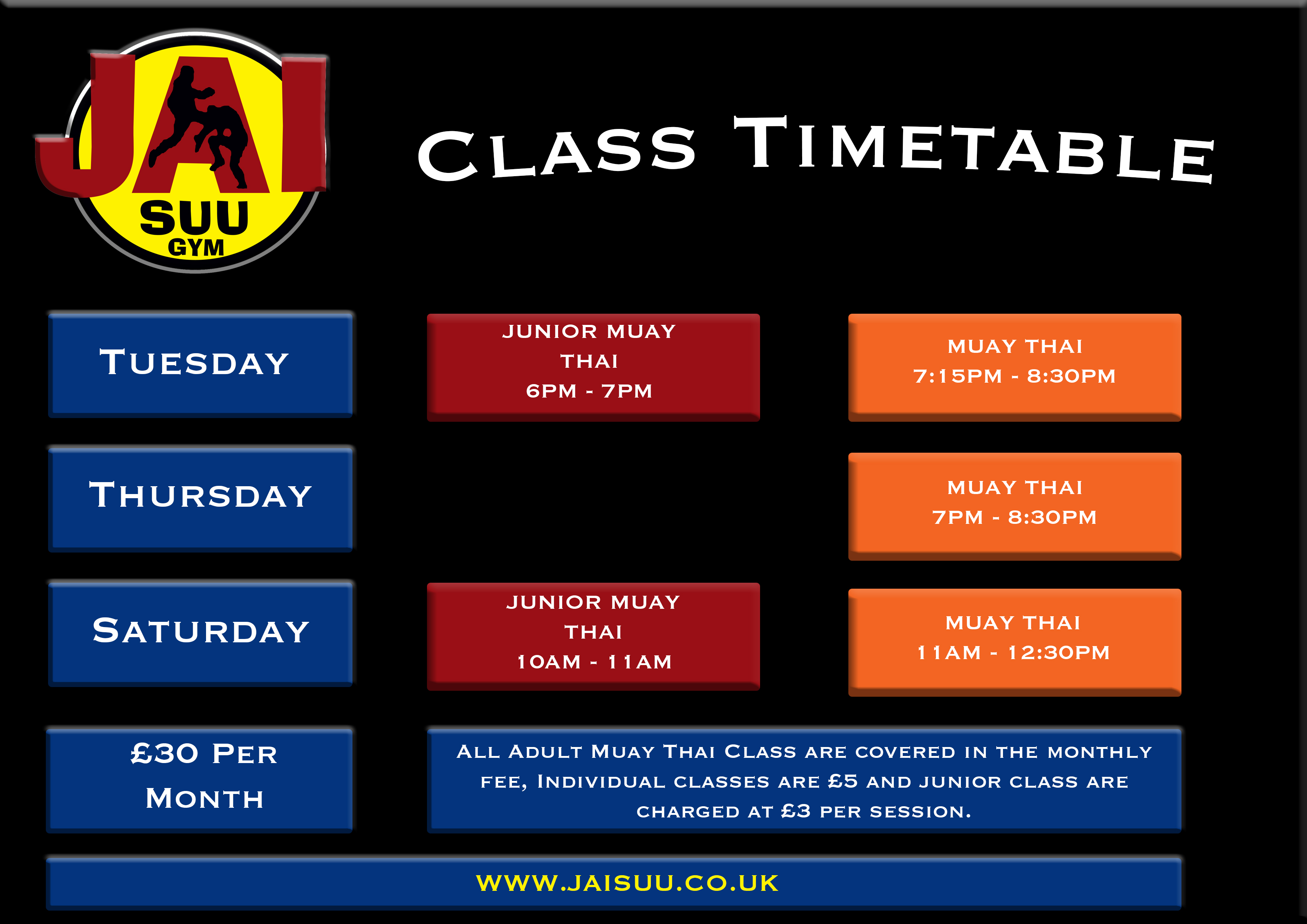 Time Table 21.4.19