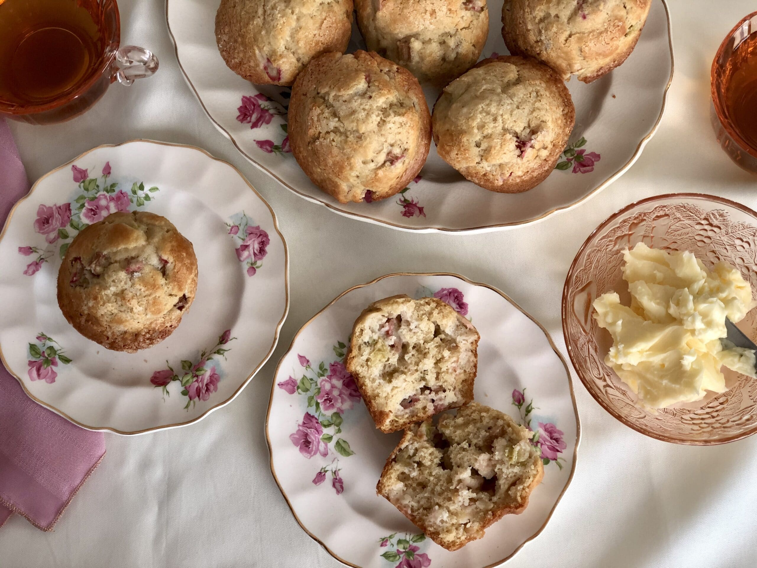 Anything Goes Fruit muffins are delicious