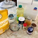 Honey Flax Wheat Bread Ingredients