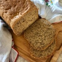 Honey Flax Wheat Bread