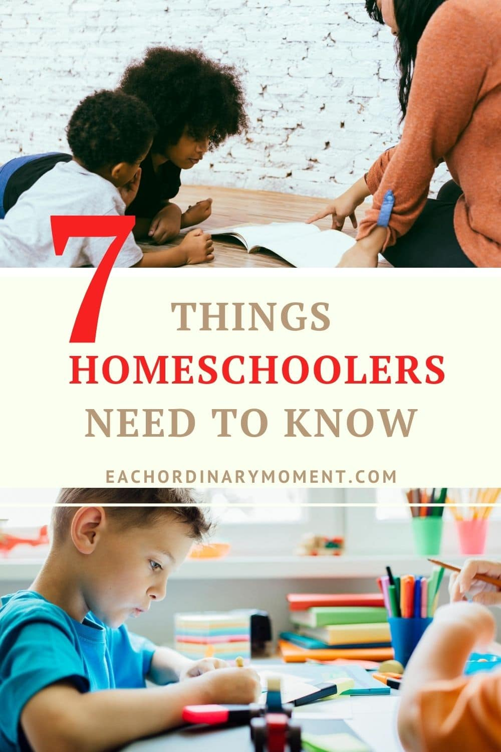 Things Homeschoolers Need to Know