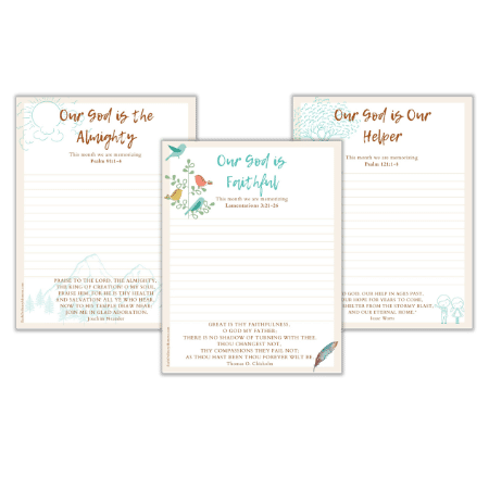 Three beautiful free printables