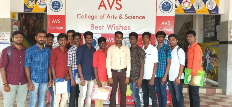 Participated the National Level Seminar at AVS College, Salem