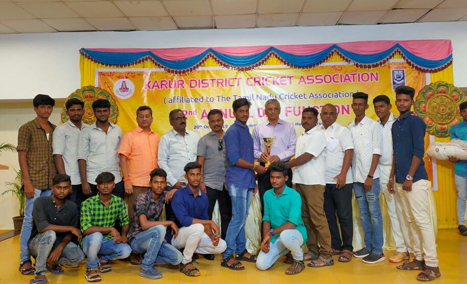 District Level Champion in Cricket