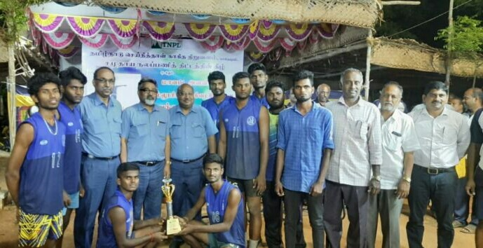 First place in TNPL Volley Ball Trophy