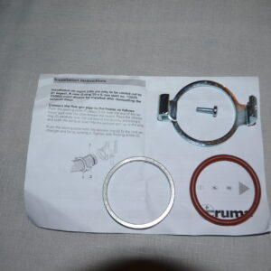 Truma S3002 / S3004 New Exhaust Duct Fitting Kit Complete - 30030-03600