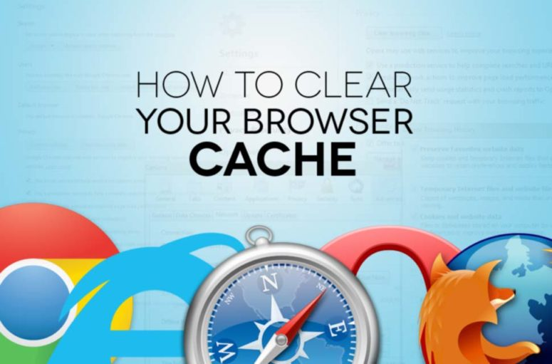 How to clear Browser & Local DNS Cache on different Operating Systems