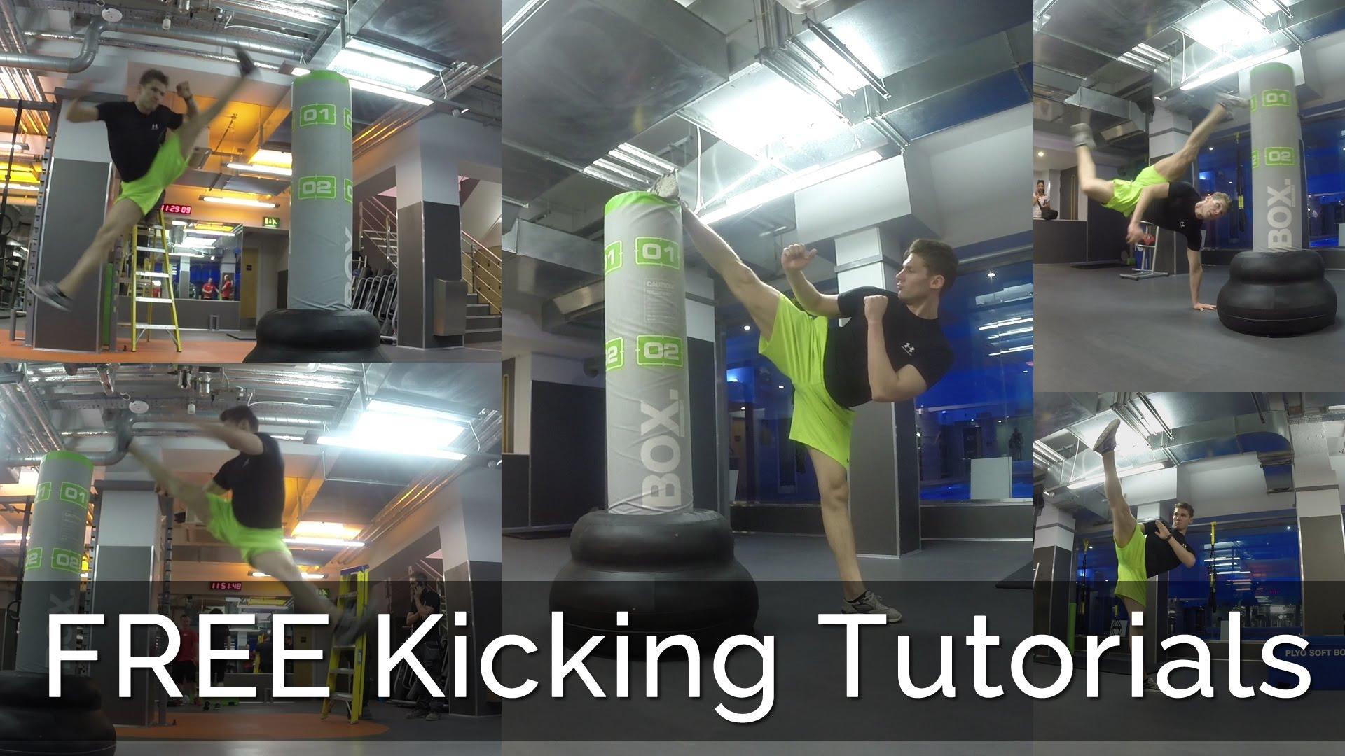 Free Kicking Tutorials Marc Dressen Personal Trainer London