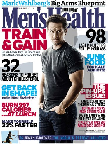 Mens Health Mag Feature Marc Dressen Personal Trainer In London