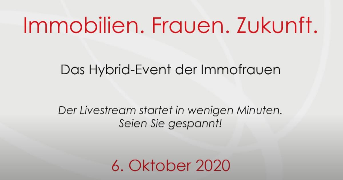"""Hybrid-Event der """"Frauen in der Immobilienwirtschaft"""""""