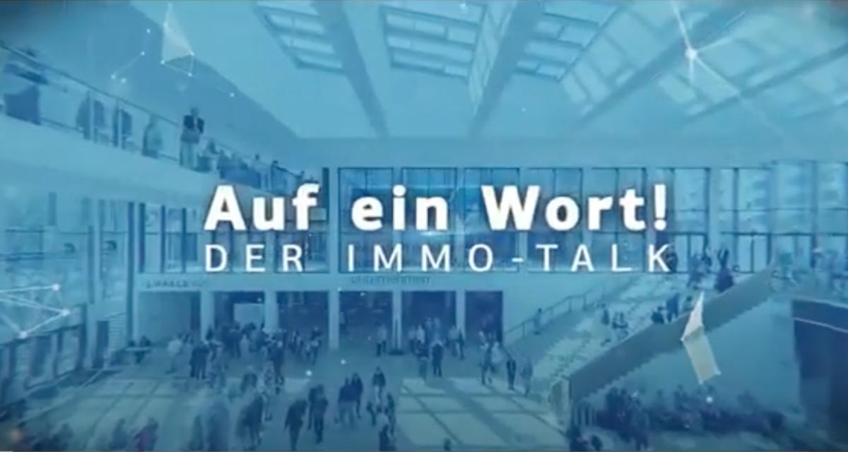 """Immo Talk, 2. Folge: """"Mieter und Vermieter - gemeinsam durch die Corona-Krise?"""""""