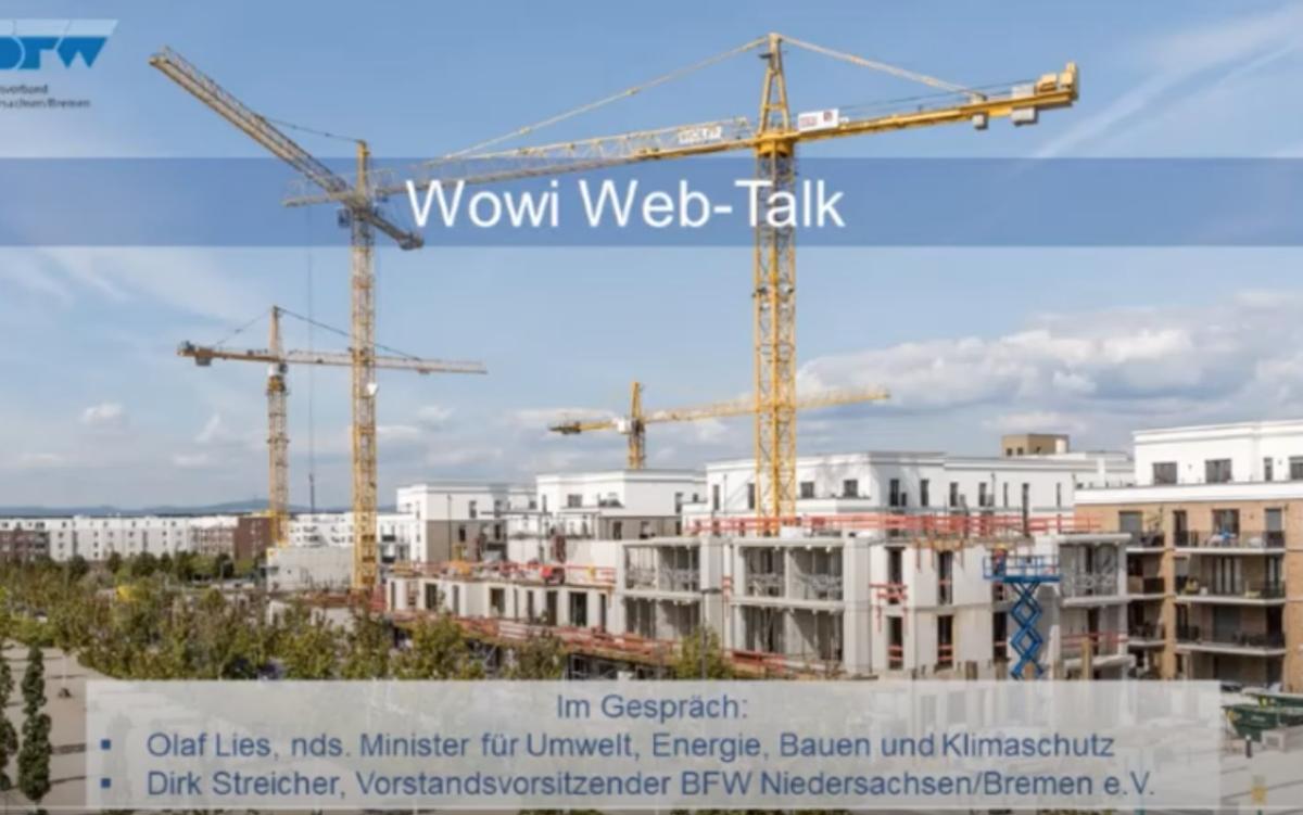 WoWi Web-Talk des BFW Landesverbandes Niedersachsen/Bremen