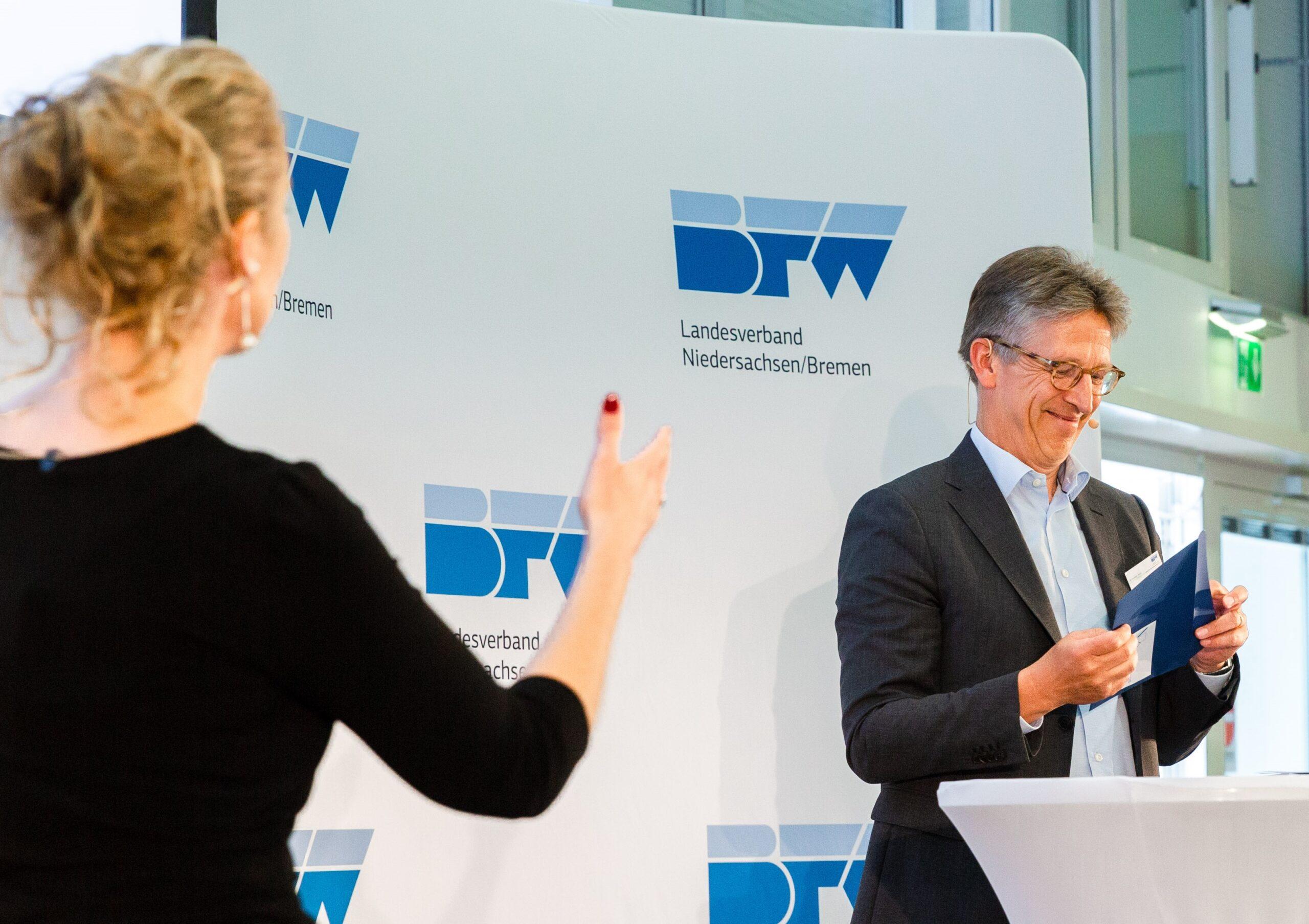 Hannoverfourm Verleihung Innovationspreis Dirk Streicher Marion Hoppen