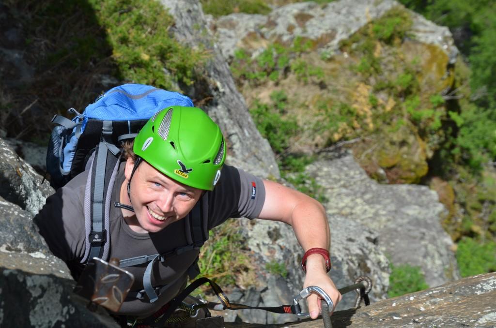 Reinhard schiestl klettersteig