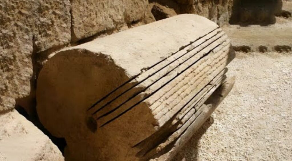 Mysterious Saw Markings In Ancient Egypt: