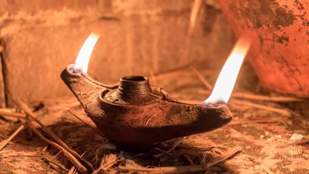 Mysterious Ancient Lamp That Burns Forever!