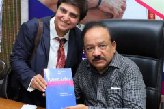 Book-Presentation-to-Honble-Health-Minister-of-India