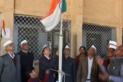 Republic-Day-Flag-Hoisting-at-a-Local-School-in-Indore