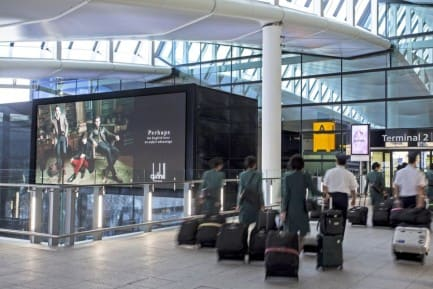 JCDecaux Heathrow Airport