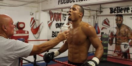 In The Gym with Chris Eubank Jr