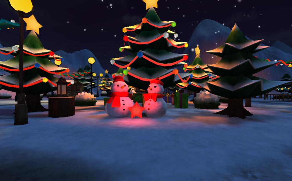 An Interactive Christmas Card