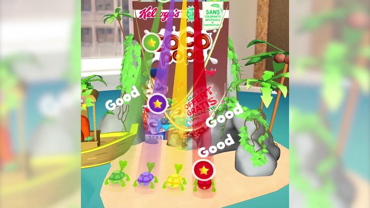 Kellogg's Augmented Reality Island Adventure