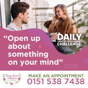 Daisy Chain Hollistics Daily Challenge Open Up-01