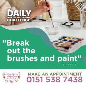 Daisy Chain Hollistics Daily Challenge Paint-01