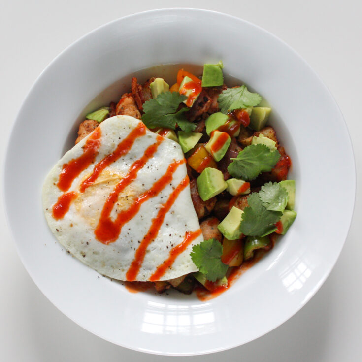 Mexican Inspired Breakfast Hash