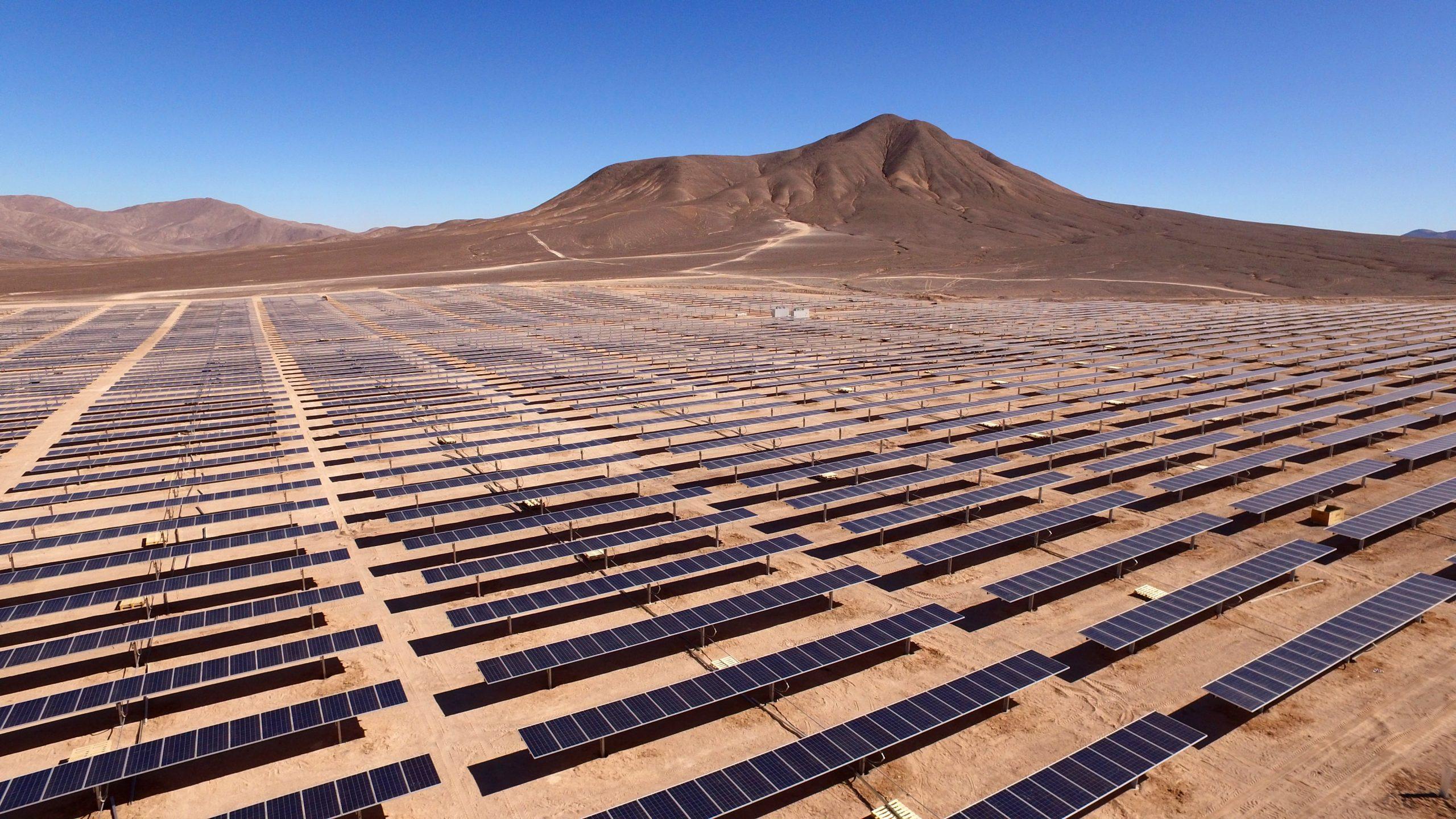 Recruitment - image of solar panels