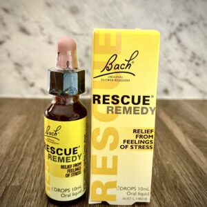 Rescue Remedy Drops bottle and box