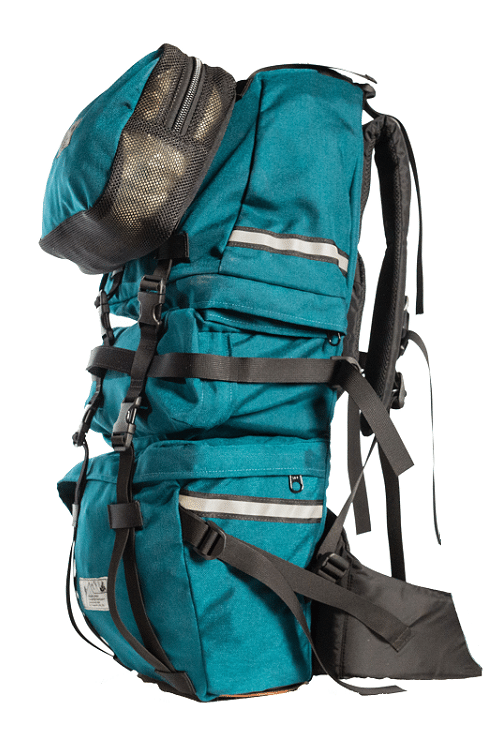 Teal Classic Pannier Backpack