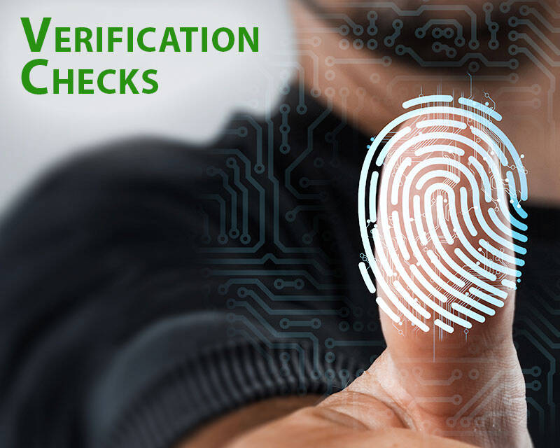 Verification Checks