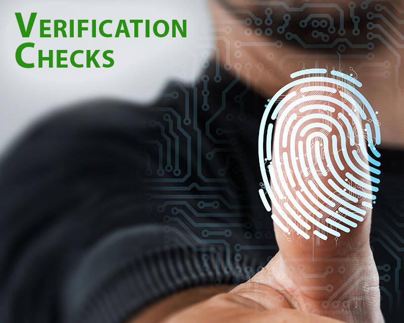 Verification Checks