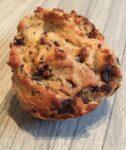 Gluten and dairy free protein chocolate chip muffins
